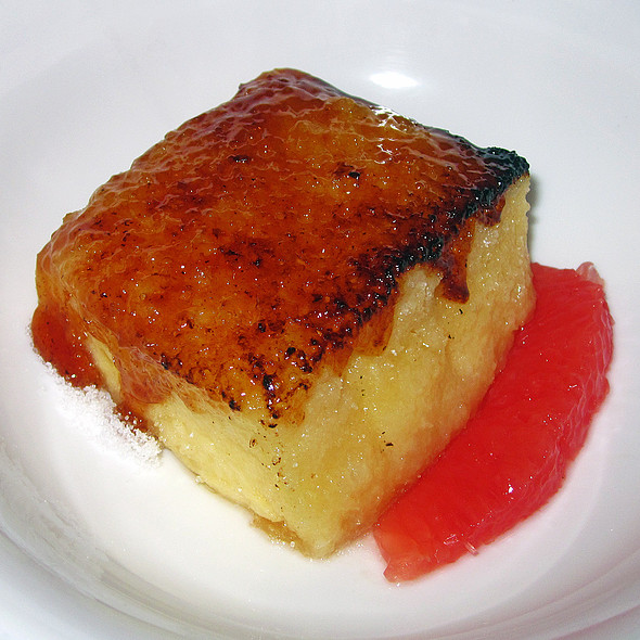 Caramelized Torija - Degustation, New York, NY
