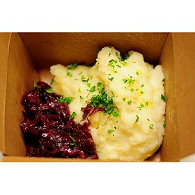 Red Cabbage And Mashed Potatoes - Grünauer, Kansas City, MO
