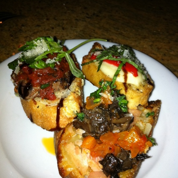 Bruschetta - Brio, New York, NY