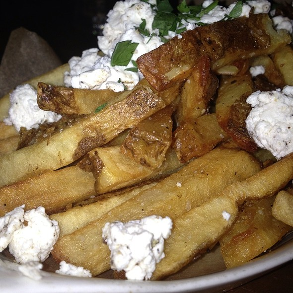 Fries With Goat Cheese And Parsley - Smithfields, Ashland, OR