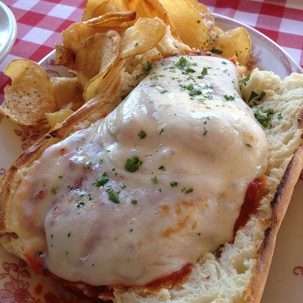 Chicken Parmesan Sandwich - Kenny's Italian Kitchen, Dallas, TX