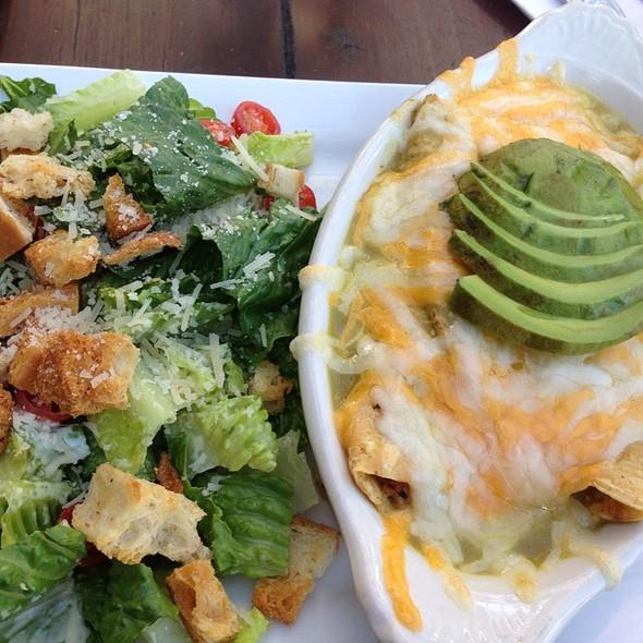 Crab Enchiladas - Le Papagayo, Encinitas, CA