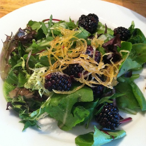 Seasonal Salad - The Beauty Shop, Memphis, TN