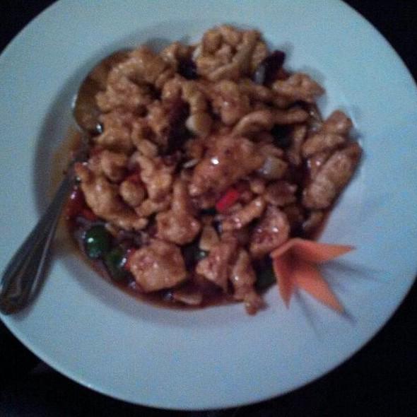 Spicy Garlic Chicken - Basil Asian Bistro, Canton, OH