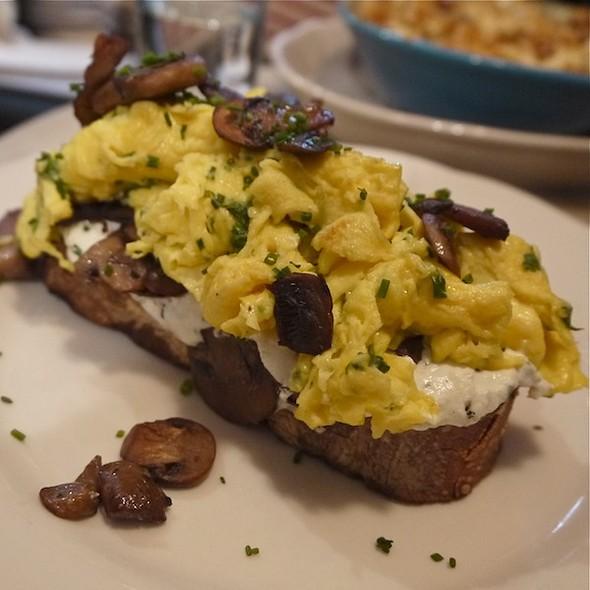 Mushroom Toast - Tipsy Parson, New York, NY