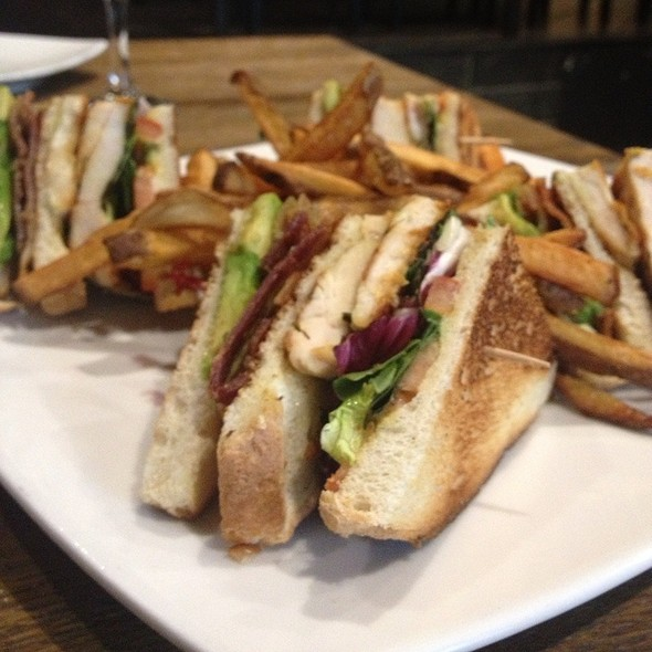 ABC Special Signature Club Sandwich - Slate, New York, NY
