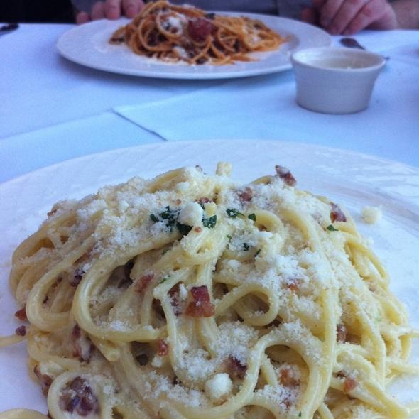 Spaghetti Carbonara - Fandango, Pacific Grove, CA