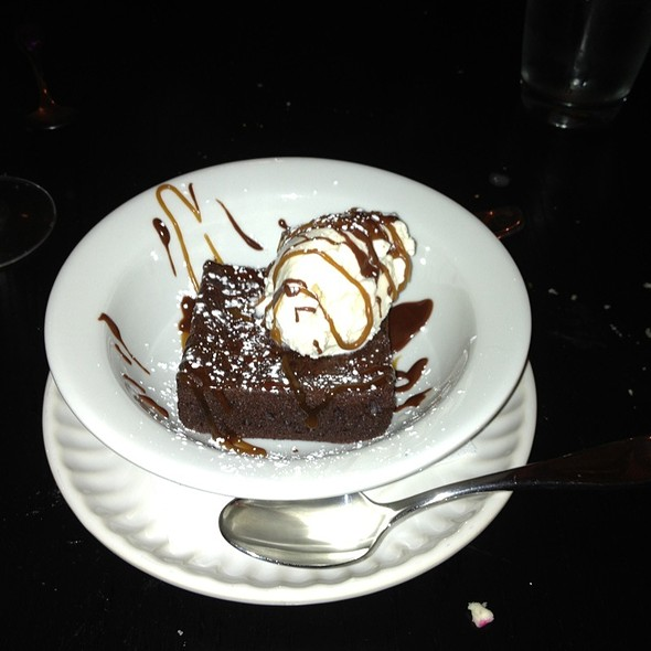 Brownie a la mode - In Bloom, Baltimore, MD