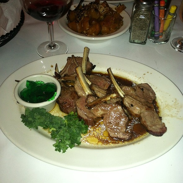 Grilled New Zealand Lamb Rack - Frank's Steaks - Rockville Centre, Rockville Centre, NY