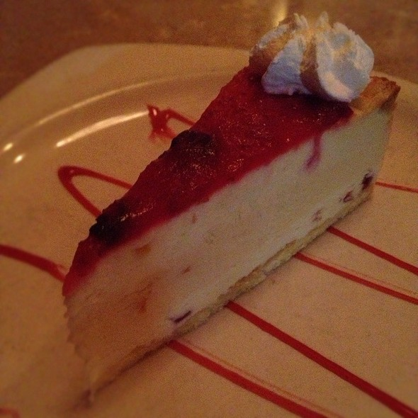 Orange Cranberry Italian Cheesecake - Scotto's Cafe, Bel Air, MD