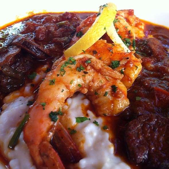 Sausage And Shrimp Etouffee - Sage Restaurant - Tallahassee, Tallahassee, FL