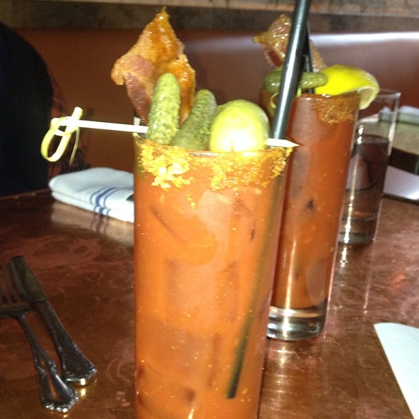Bloody Mary - Tiny's & the Bar Upstairs, New York, NY
