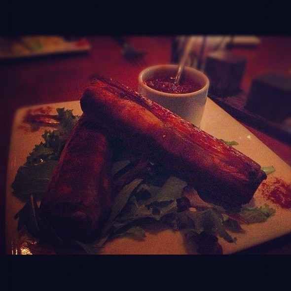 Moroccan Beef Cigars - Medina Oven & Bar, Dallas, TX