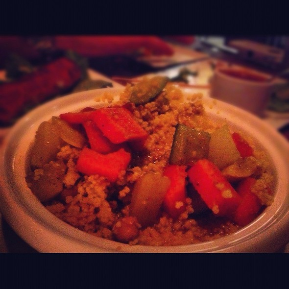 Seven Vegetable Cous Cous - Medina Oven & Bar, Dallas, TX
