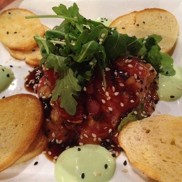 Tuna Poke - City Fire, American Oven & Bar, The Villages, FL