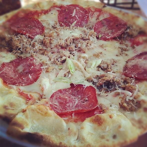Salami And Sausage Pizza - Piatti - La Jolla, La Jolla, CA