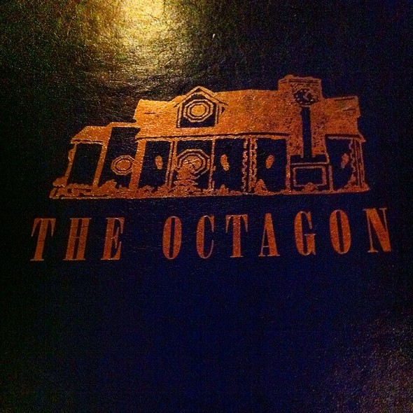 Menu - Octagon, Mystic, CT