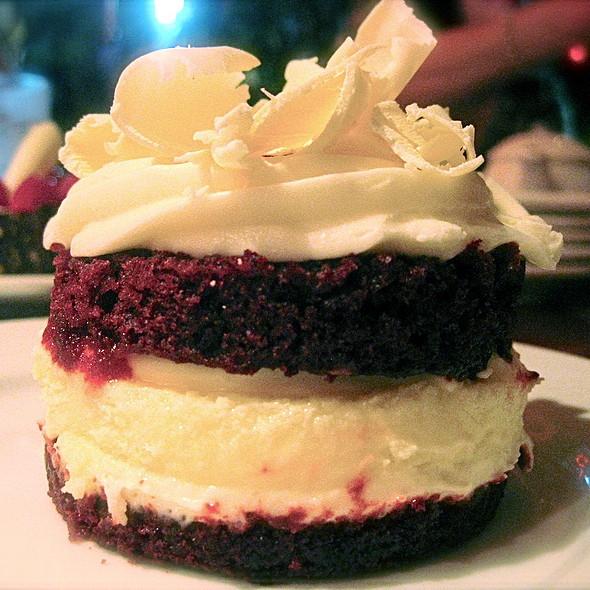 Red Velvet Cake Tart - Zov's Bistro Tustin, Tustin, CA