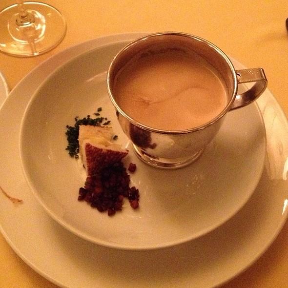 Sweet Onion Bisque - Capitol Grille - Hermitage Hotel - Nashville, Nashville, TN