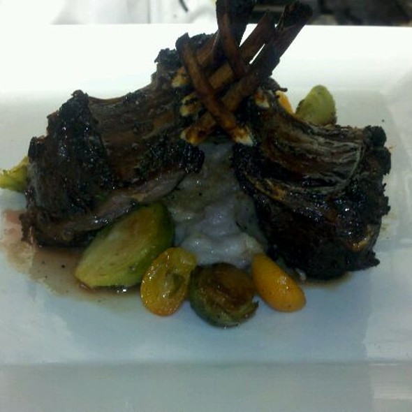 Citrus Marinated Lamb With Purple Potato Mash - Little house bistro, Mobile, AL