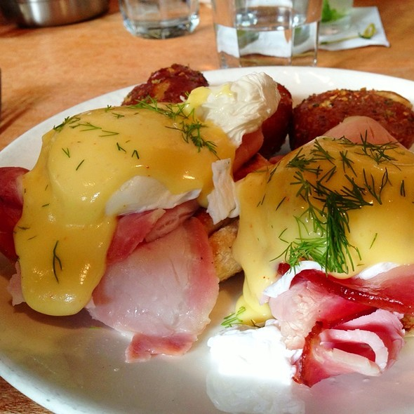 Eggs Benedict - Lola Seattle, Seattle, WA