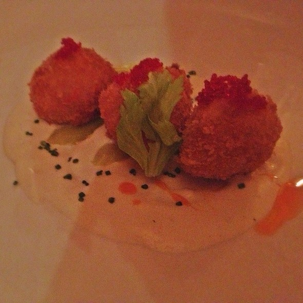 Deep Fried Lobster Balls - Rimrock Cafe, Whistler, BC