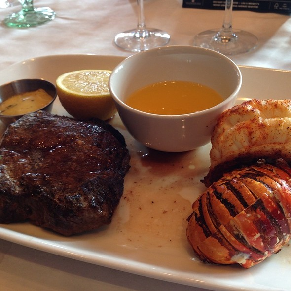 Top Sirloin And Lobster Tail - Lou & Mickey's, San Diego, CA
