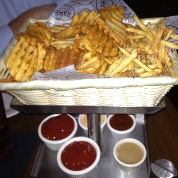 French Fry Tasting Basket - RARE Bar & Grill (Chelsea), New York, NY