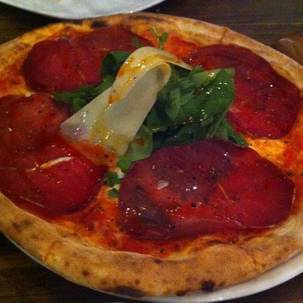 Pizza alla Bresaola - Fratelli La Bufala, Miami Beach, FL