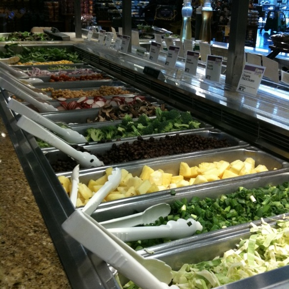 Whole Foods Town Square Bar