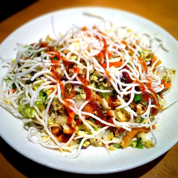 California Pizza Kitchen Thai Crunch Salad Nutrition