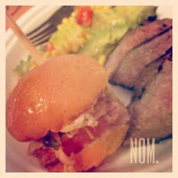 Kobe Beef Sliders & Tri-Tip  - Green Street Restaurant, Pasadena, CA
