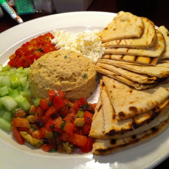 Hummus Plate - Iron Hill Brewery - West Chester, West Chester, PA