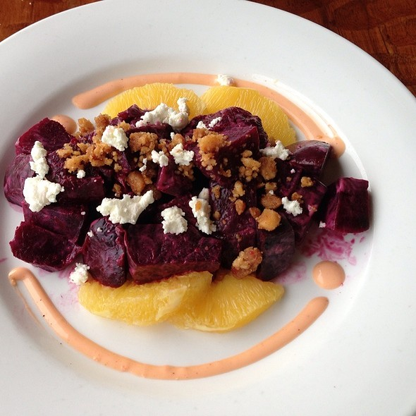 Roasted Beets, Orange  Supremes, Cheve - Oasis on the Beach, Kapaa, HI