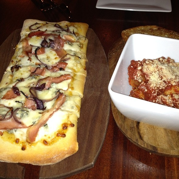 Prosciutto Pizza - Bacchus Bar and Bistro, Irvine, CA