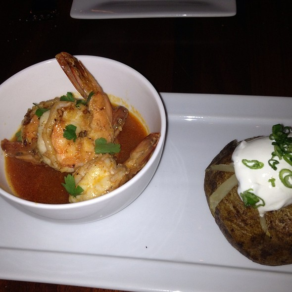 Spicy Shrimp - Bacchus Bar and Bistro, Irvine, CA