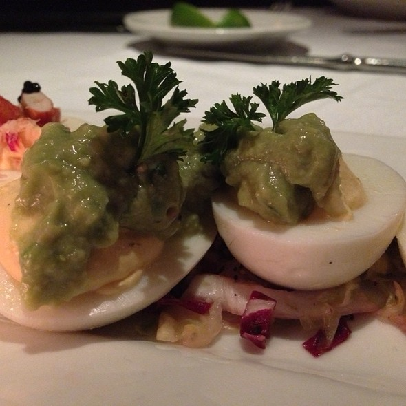 Avocado Deviled Egg - Nick & Sam's Steakhouse, Dallas, TX