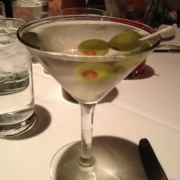 Dirty Grey Goose Martini - Jake's Restaurant, Brookfield, WI