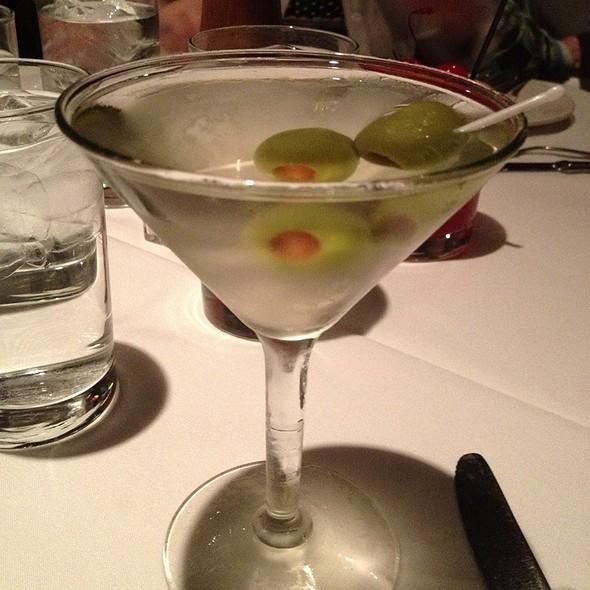 Dirty Grey Goose Martini - Jake's Restaurant, Brookfield, WI