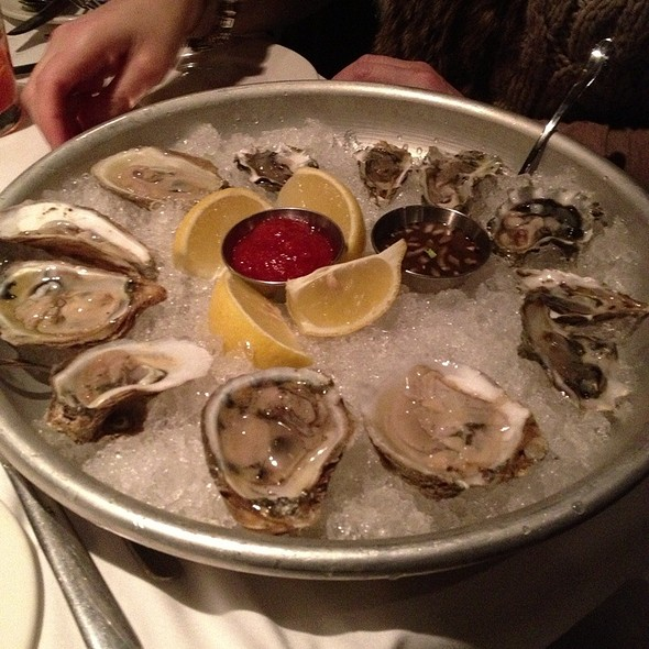 Oysters on the Half Shell - Jake's Restaurant, Brookfield, WI