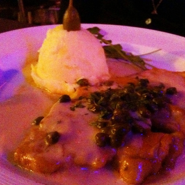 Chicken Picatta - Kaiser Grille - Palm Springs, Palm Springs, CA