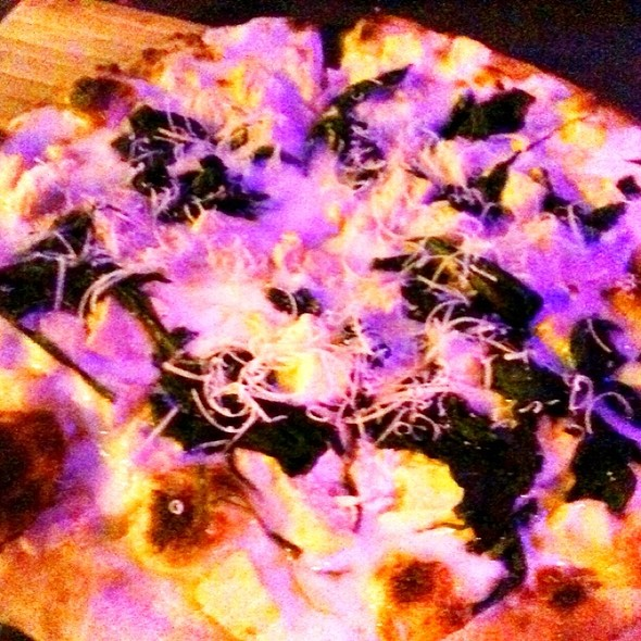 Chicken Alfredo Pizza - Kaiser Grille - Palm Springs, Palm Springs, CA