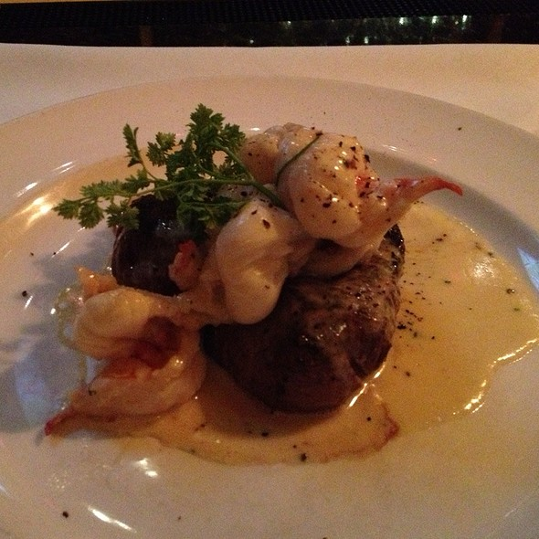 Filet Mignon Topped With Butter Poached Lobster Tail - The Capital Grille - Milwaukee, Milwaukee, WI
