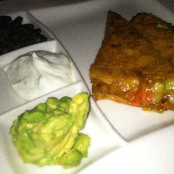 Grilled Vegetable Quesadilla - La Taverne - The Broadmoor, Colorado Springs, CO