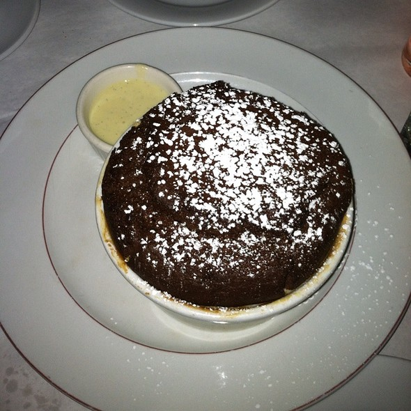 Chocolate Souffle - Bistro Chat Noir, New York, NY