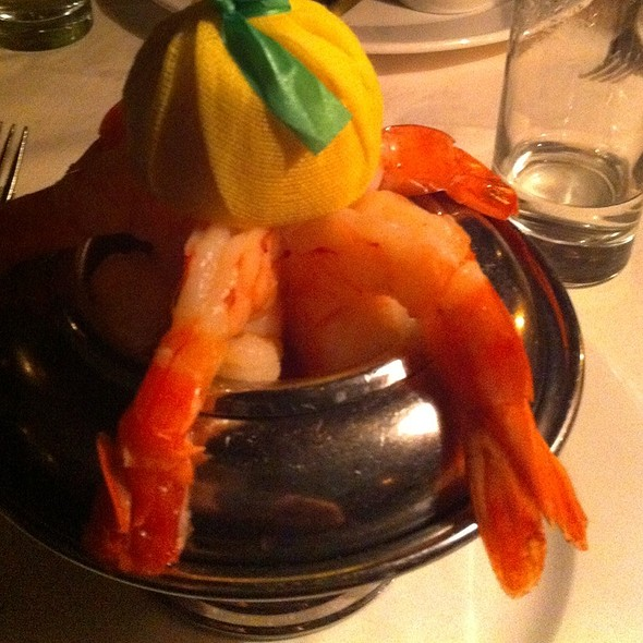 Shrimp Cocktail - The Tower Bar, West Hollywood, CA