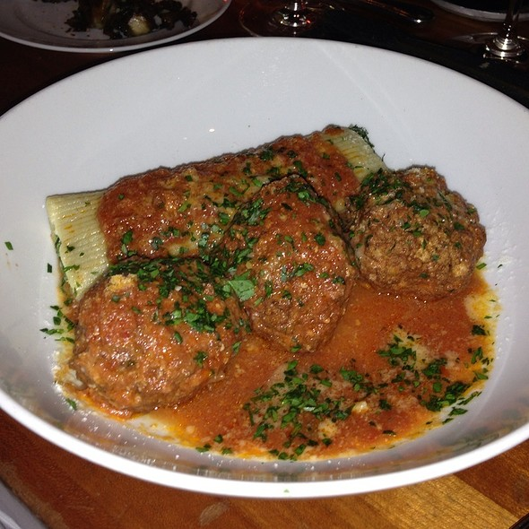 veal and ricotta meatballs - Hearth, New York, NY