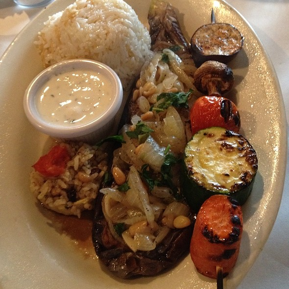 Veggie Sampler - Anatolia Turkish Restaurant, Nashville, TN