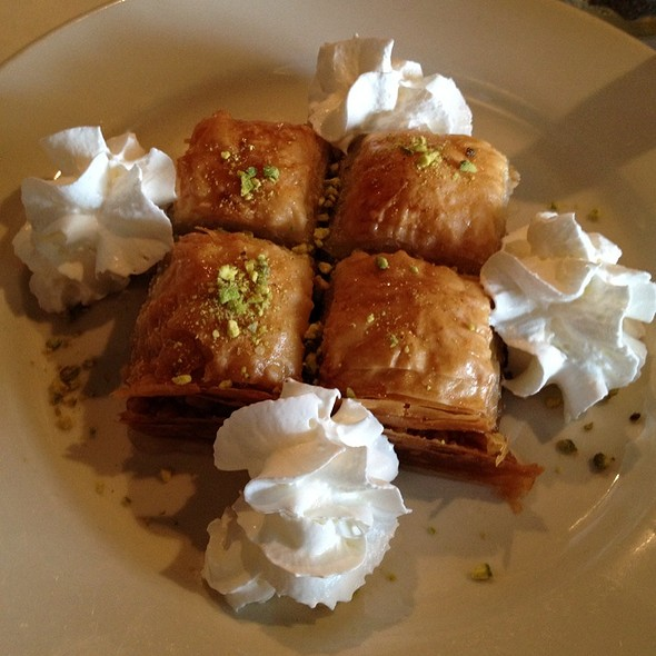 Baklava - Anatolia Turkish Restaurant, Nashville, TN
