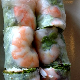 Imperial Rolls - Slanted Door, San Francisco, CA